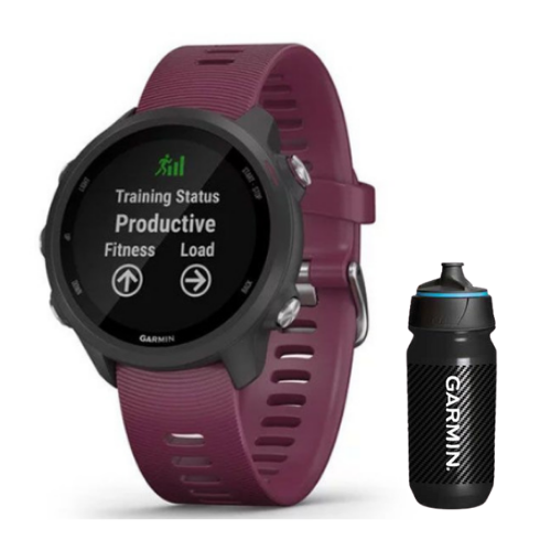 [INN03405] Combo SmartWatch Garmin Forerunner 245 + Botella Garmin Carbon 500 ML