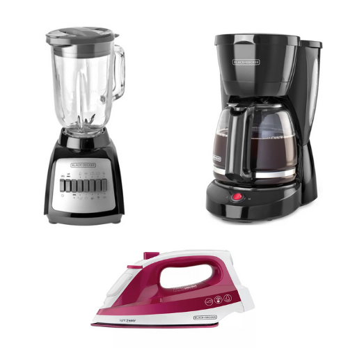 [INN03987] Combo Black&Decker Plancha + Licuadora + Coffee Maker CBBD1717