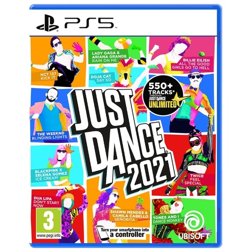 [INN04066] Juego Playstation 5 Just Dance 2021