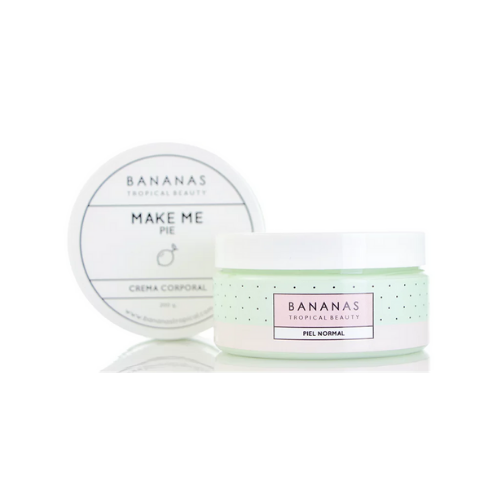 "[INN04814] Crema Corporal Bananas Tropical Beauty ""Make Me Pie"" 200 GR"