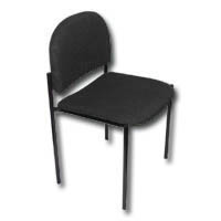 [INT4714] Visitor Chair Black